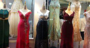 لباس مجلسی زنانه کارشده